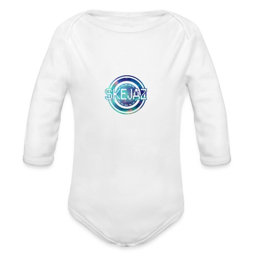 Official SKEJAZ Band Logo - Organic Longsleeve Baby Bodysuit