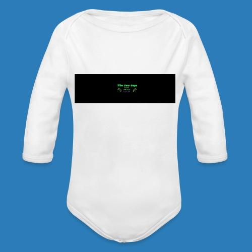 tetete-png - Langærmet babybody, økologisk bomuld