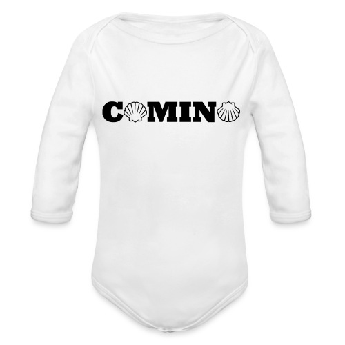 Camino - Langærmet babybody, økologisk bomuld