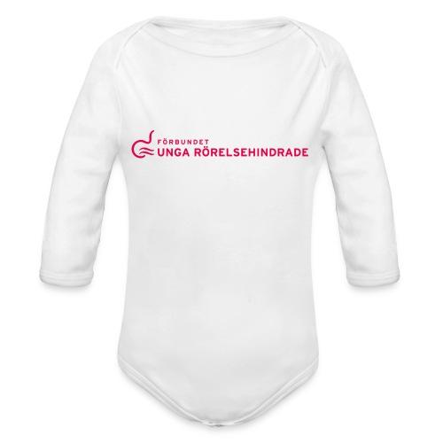 Unga Rörelsehindrade - Ekologisk långärmad babybody