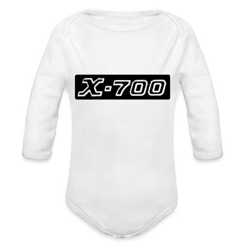 Minolta X-700 - Body ecologico per neonato a manica lunga