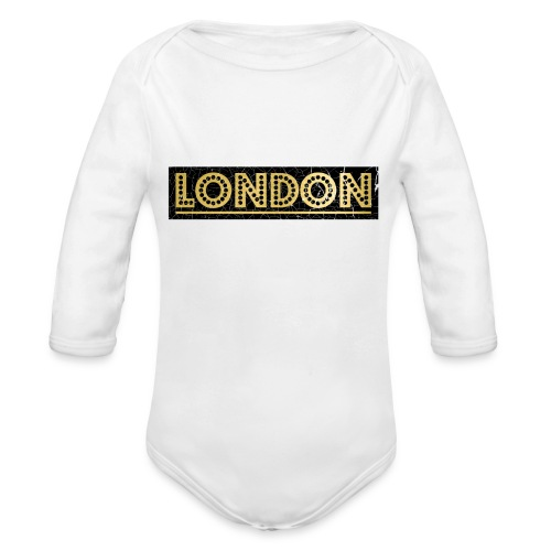 LONDON - Organic Longsleeve Baby Bodysuit