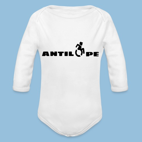 Antilope 003 - Baby bio-rompertje met lange mouwen
