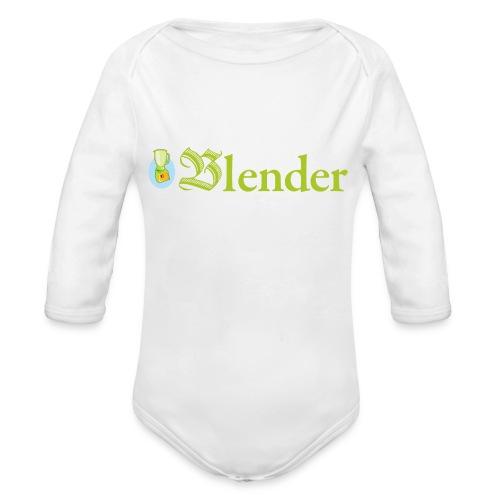 BLENDER BOOKMAGAZINE - Body Bébé bio manches longues