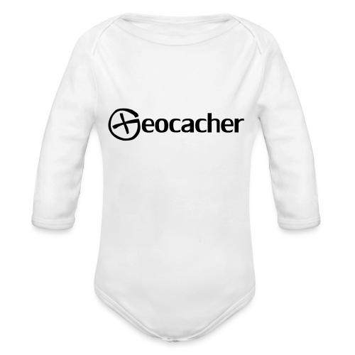 Geocacher - Vauvan pitkähihainen luomu-body