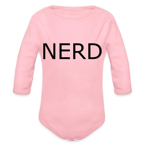 NERD - Body Bébé bio manches longues