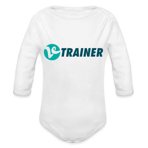 VTRAINER - Body orgánico de manga larga para bebé