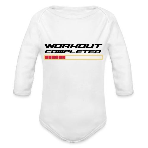 Workout Komplett - Baby Bio-Langarm-Body