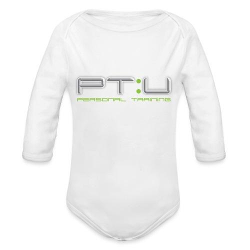 PT:U Original logo Tee - Organic Longsleeve Baby Bodysuit