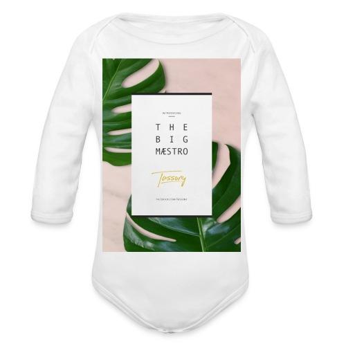 Tassony manifesto - case 5/5s - Body ecologico per neonato a manica lunga