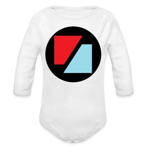 Rockzeit Logo original - Langærmet babybody, økologisk bomuld