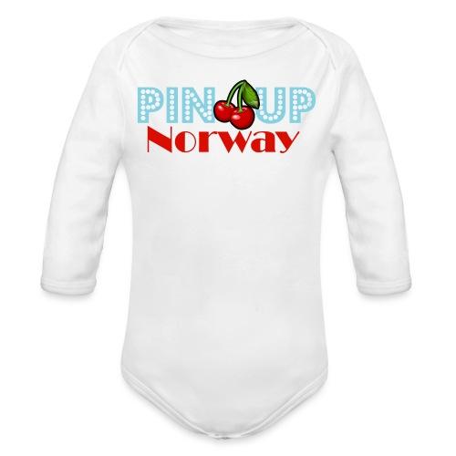 Pinup Norway Fan Club - Økologisk langermet baby-body