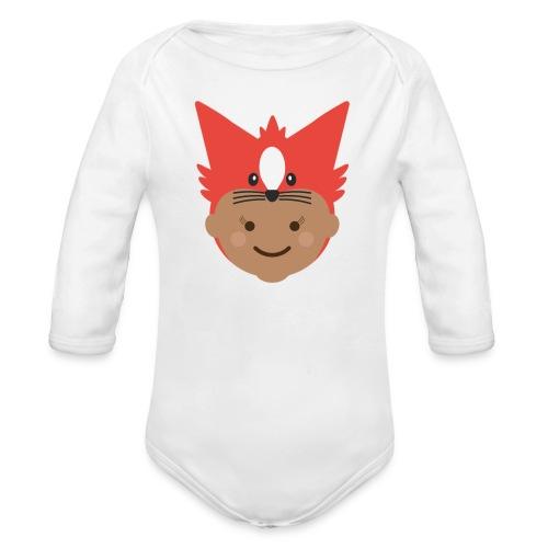 Florence the Fox | Ibbleobble - Organic Longsleeve Baby Bodysuit