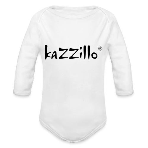 Logo kazzillo - Body ecologico per neonato a manica lunga
