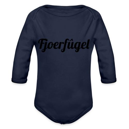 fjoerfugel - Baby bio-rompertje met lange mouwen