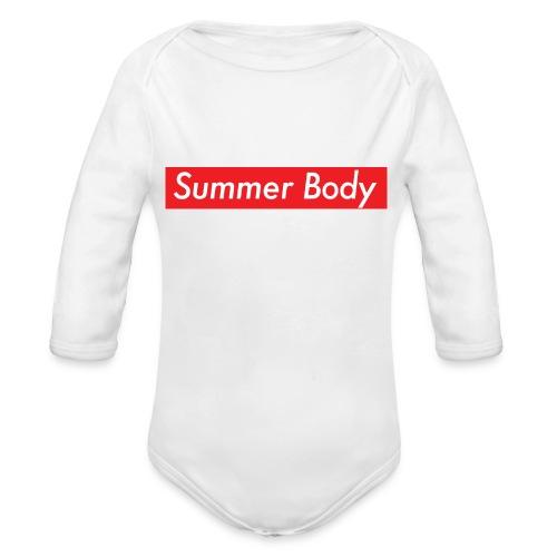 Summer Body - Body Bébé bio manches longues