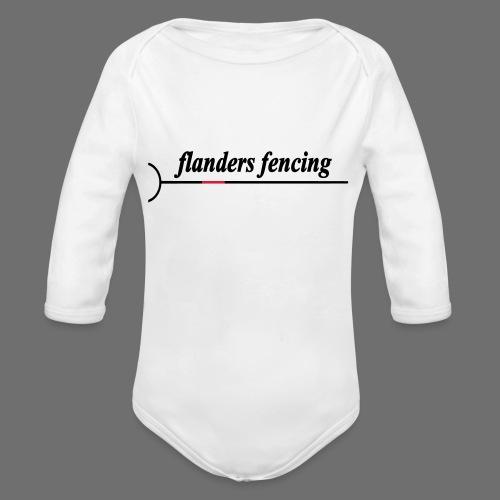 Flanders Fencing - Baby bio-rompertje met lange mouwen