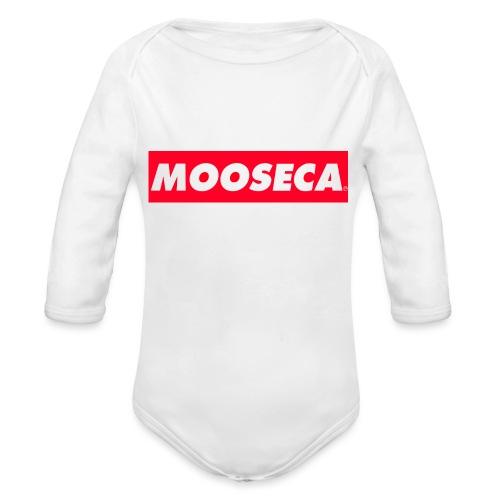 MOOSECA CAP - Body ecologico per neonato a manica lunga