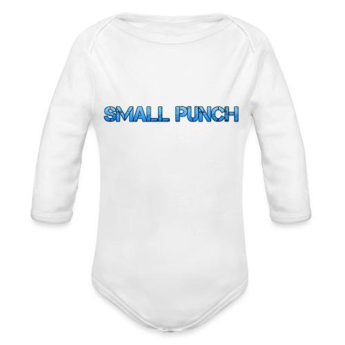 small punch merch - Organic Longsleeve Baby Bodysuit
