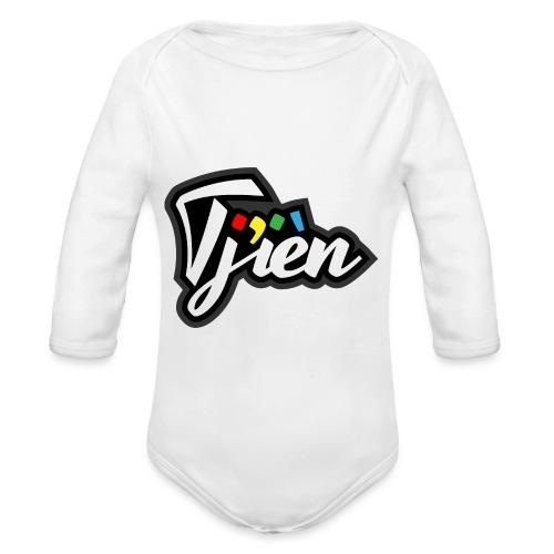 Tjien Logo Design - Baby bio-rompertje met lange mouwen
