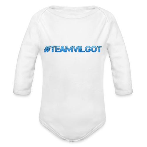teamvilgot - Ekologisk långärmad babybody