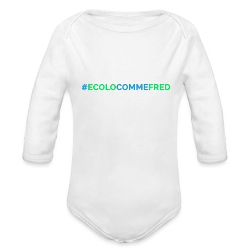 ecolocommefred - Body Bébé bio manches longues
