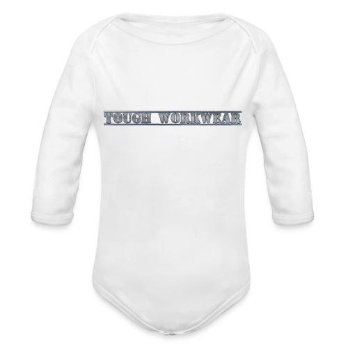 Tough Workwear - Organic Longsleeve Baby Bodysuit
