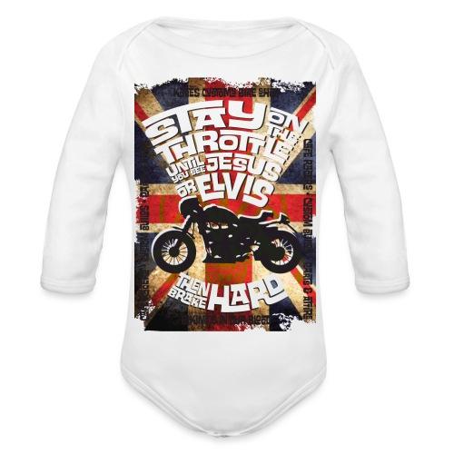 Kabes British Customs - Organic Longsleeve Baby Bodysuit