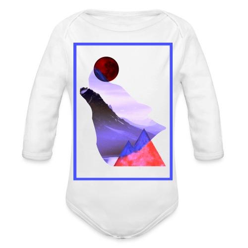 Måne Ulv - Laurids B Design - Langærmet babybody, økologisk bomuld