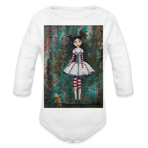 prinsess goth - Body Bébé bio manches longues
