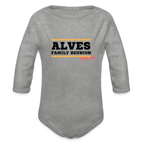 Alves - Body ecologico per neonato a manica lunga