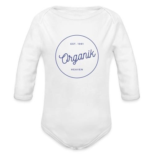 Organic - Body ecologico per neonato a manica lunga