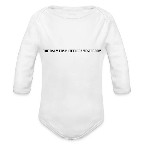 170106 LMY t shirt hinten png - Baby Bio-Langarm-Body