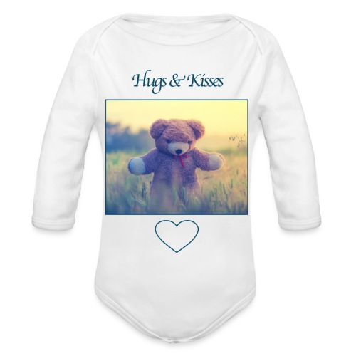 Hugs & Kisses: Phone Case - Organic Longsleeve Baby Bodysuit