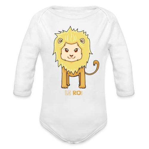 Le roi - Body Bébé bio manches longues