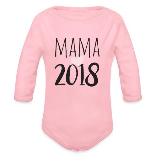 Mama 2018 - Baby Bio-Langarm-Body