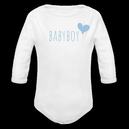 babyboy - Baby Bio-Langarm-Body