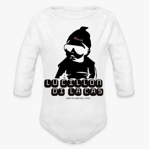 Lu Cillon di la Cas - Body ecologico per neonato a manica lunga
