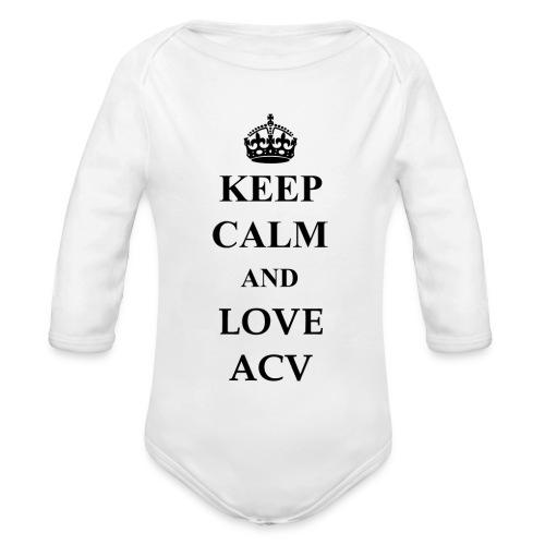 Keep Calm and Love ACV - Baby Bio-Langarm-Body