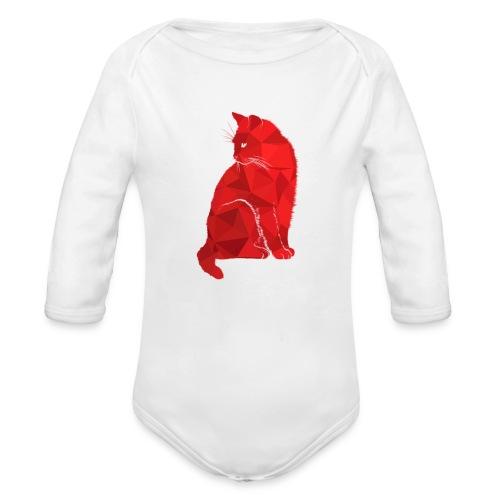 Cat - Baby Bio-Langarm-Body