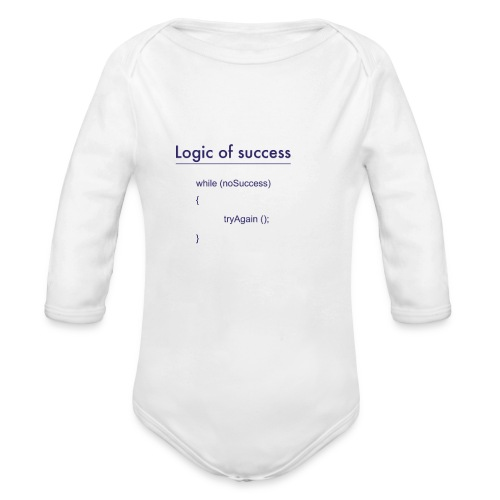 success - Baby Bio-Langarm-Body