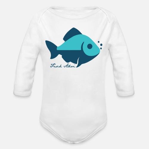 Fisch Ahoi - Baby Bio-Langarm-Body