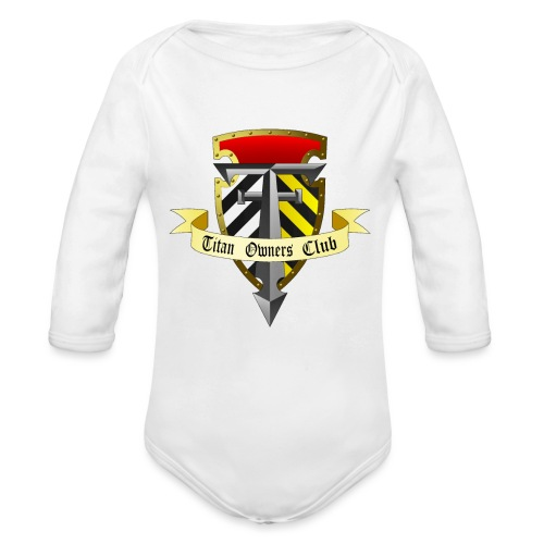 TOC Gothic Clear Background 1 - Organic Longsleeve Baby Bodysuit
