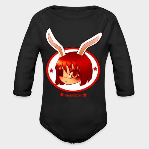 Geneworld - Bunny girl pirate - Body Bébé bio manches longues