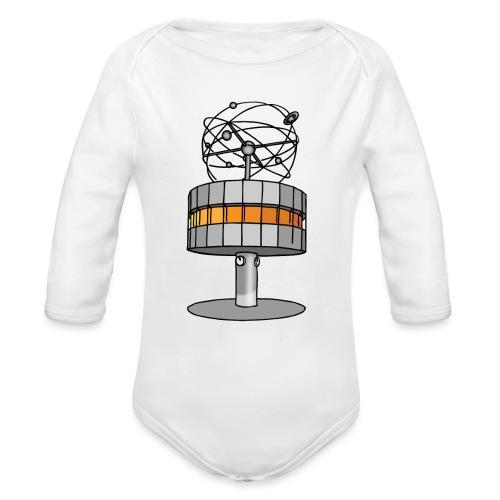 L'orologio del tempo del mondo BERLIN c - Body ecologico per neonato a manica lunga