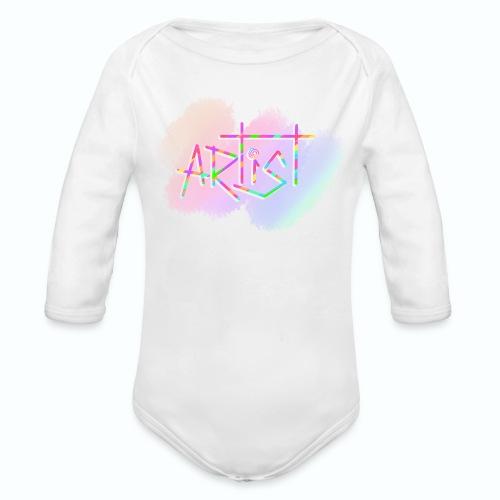 Artist in Colors - Body orgánico de manga larga para bebé