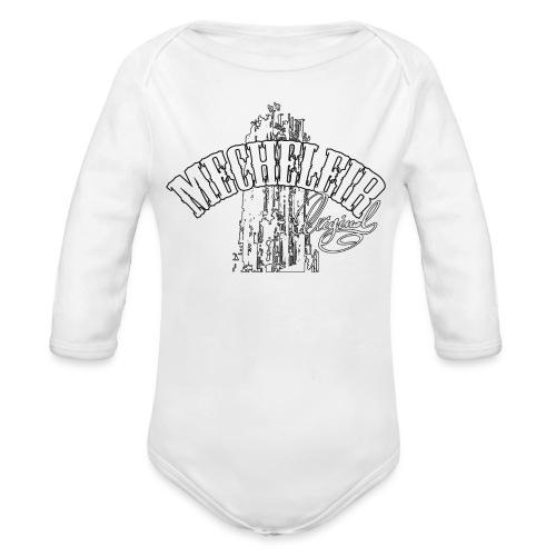 Mecheleir Original - Baby bio-rompertje met lange mouwen