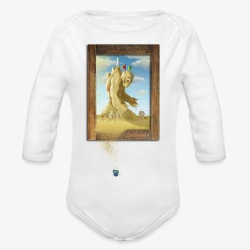 Sand - Body orgánico de manga larga para bebé