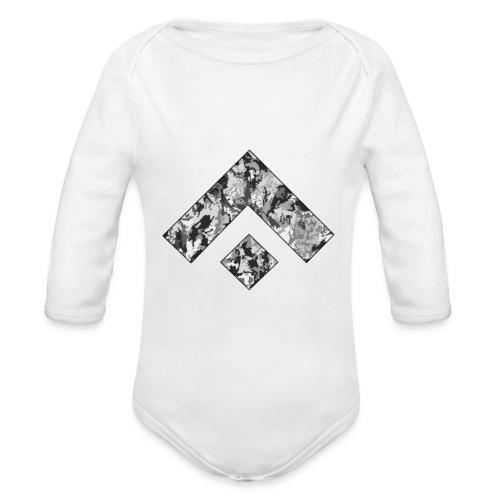 Logo Design - Body orgánico de manga larga para bebé