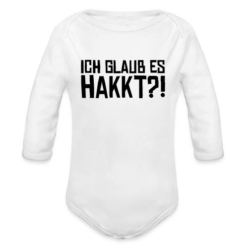 IGEH - Baby Bio-Langarm-Body